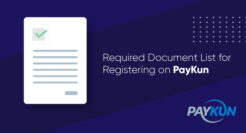 Document Checklist for Payment Gateway