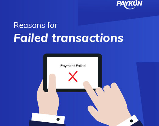 Reasons for Online Payment Failure